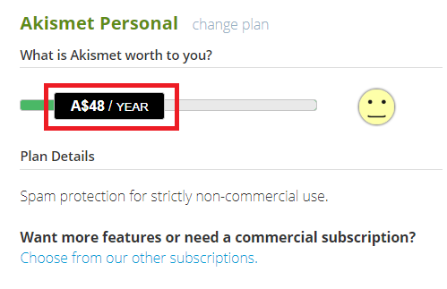 WordPressプラグインAkismet Anti-Spamを無料で利用する方法