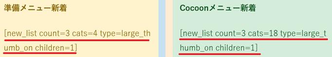 トップページの作り方、新着記事を表示させるショートコード