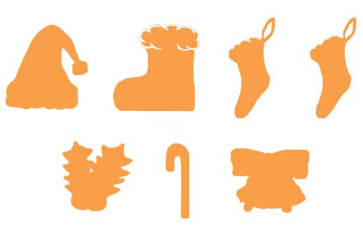 バナー工房で画像を文字の形に切り取る機能でマテリアルデザインアイコンを作る例1