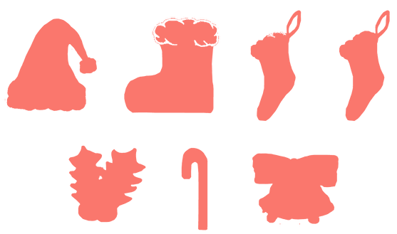 バナー工房で画像を文字の形に切り取る機能でマテリアルデザインアイコンを作る例2